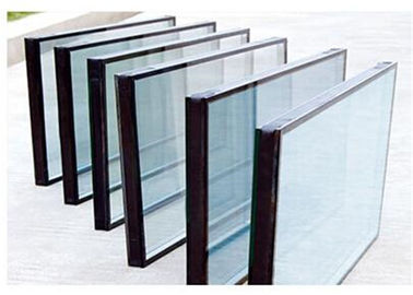 Qualified Float Glass Sealed Insulated Glass Unit For Refrigerator Filled With Air